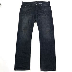 Guess Lincoln Slim-Straight Denim Jeans Sz 36x30